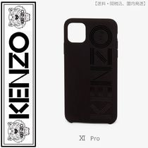 KENZO(ケンゾー) logo iPhone XI Pro case(black)