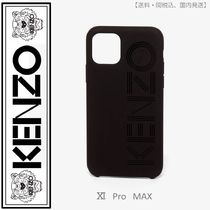 KENZO(ケンゾー)logo iPhone XI Pro Max case(black)