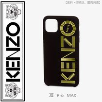 KENZO logo iPhone XI Pro Max case(golden yellow)