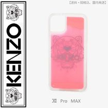 KENZO(ケンゾー)iPhone XI Pro MAX Tiger case(ピンク)