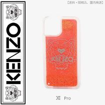 KENZO(ケンゾー)iPhone XI Pro Tiger case(coral)