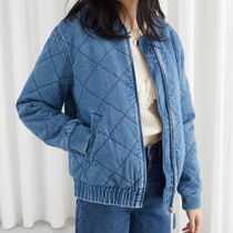 """& Other Stories"" Padded Organic Cotton Denim Jacket MB"