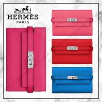 ◆Hermes20SS最新作◆ケリー 財布◆Pink/Blue/Red