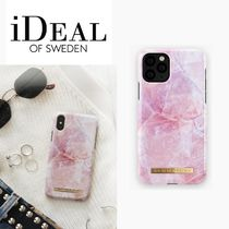 iDEAL OF SWEDEN(アイディール) スマホケース・テックアクセサリー iDeal of Sweden/iPhone ケースPILION PINK MARBLE/対応機種多数