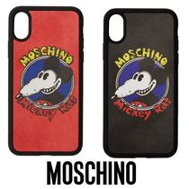 国内発送 Moschino New Year Mickey Rat iPhone XS/X ケース
