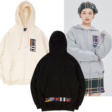 ROMANTIC CROWN アウターその他 ROMANTIC CROWN.BTS.防弾少年団着用 RMTC LOGO HOOD ZIP UP 3色