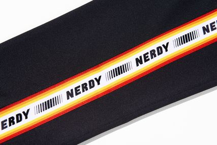 NERDY ボトムスその他 NERDY Logo Tape Track Pants BBN84 追跡付(6)