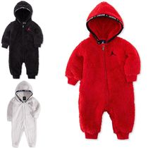 国内発送 Air Jordan  Faux-Sherpa Hooded Coverall