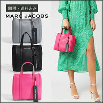 【MARC JACOBS】 FW19 The Tag Tote 21 レザー トートバッグ