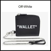 OFF-WHITE★  Quote chain purse WALLET 【国内発送】
