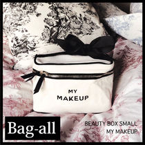 Bag all(バッグオール) メイクポーチ 【Bag-all】NY発〓 BEAUTY BOX SMALL 白