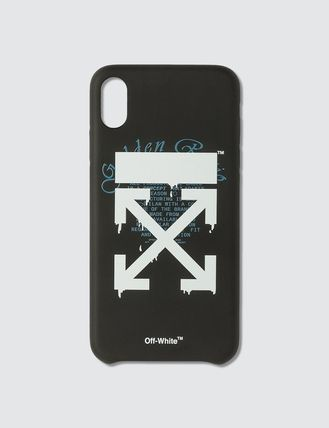 Off-White スマホケース・テックアクセサリー US発関税込み★Off-White★Dripping ArrowsiPhone Xs Max Case