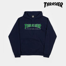 【THRASHER】スラッシャー OUT hoodie フーディ
