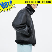 ☆OPEN THE DOOR☆ over shearing ムスタン / unisex