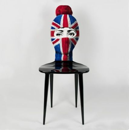 FORNASETTI 椅子・チェア FORNASETTI フォルナセッティ HAT AND FACE Union jack CAHIR