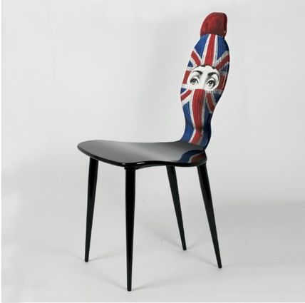 FORNASETTI 椅子・チェア FORNASETTI フォルナセッティ HAT AND FACE Union jack CAHIR(2)