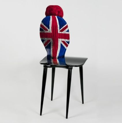 FORNASETTI 椅子・チェア FORNASETTI フォルナセッティ HAT AND FACE Union jack CAHIR(4)