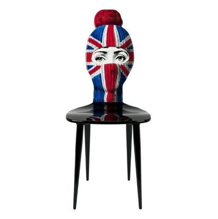 FORNASETTI 椅子・チェア FORNASETTI フォルナセッティ HAT AND FACE Union jack CAHIR(5)