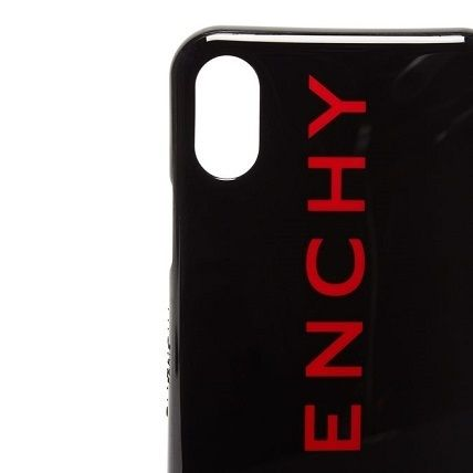 GIVENCHY スマホケース・テックアクセサリー 【GIVENCHY】ロゴ iPhone Ⅹ ケース(4)