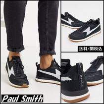 【Paul Smith】PS rocket recycled knitted trainers ブラック♪