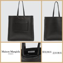 [MAISON MARGIELA]メゾンマルジェラ Outline Leather Tote Bag