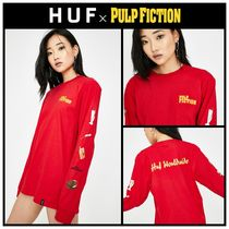 注目コラボ!! ☆ HUF ☆ X PULP FICTION PROPS LONG SLEEVE TEE