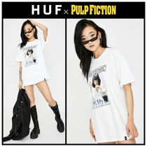 コラボ!! ☆ HUF ☆ X PULP FICTION MIA AIRBRUSH GRAPHIC TEE