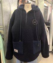 大人気 ★5252 by OiOi★ REVERSIBLE SHEARLING ANORAK /NAVY
