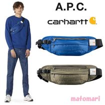 完売必須!【A.P.C.x Carhartt WIP】 Shawn Hip Bag ボディバッグ
