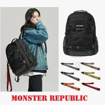 【MONSTER REPUBLIC] EXCEEDING 3D BACKPACK / BLACK