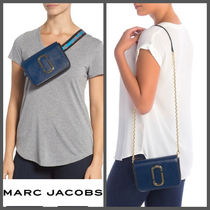 【MARC JACOBS】SALE!! Hip Shot Leather Convertible Belt Bag