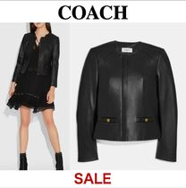★SALE★ COACH * Tailored Leather Jacket レザー ジャケット
