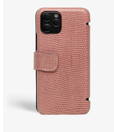 THE CASE FACTORY スマホケース・テックアクセサリー The Case Factory★iPhone 11 PRO LIZARD カードケース付 レザー(5)