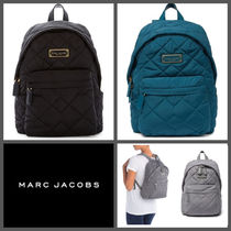 【MARC JACOBS】SALE!! Quilted Nylon School Backpack