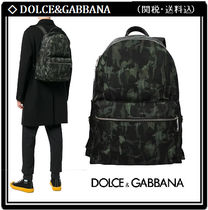 【Dolce&Gabbana】Camouflage Backpack 関税・送料込