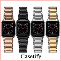 Casetify Apple Watchベルト Link Bracelet Band 4色 送料込み
