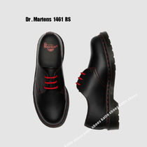 Dr Martens★1461 RS BLACK SMOOTH レッド ステッチ★兼用