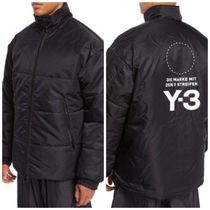 [ Y-3 ] Padded Coat with Removable Hoodie