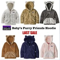 Patagonia 出産祝 ベア耳 フーディー Baby Furry Friends Hoody