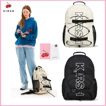 [KIRSH](キル時)ビッグロゴSPORTS BACKPACK JS [2色]