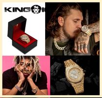 【king ice】The 14K Gold Baron Watch 完売必至!