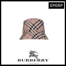 BURBERRY KIDS ヴィンテージチェックサンハット