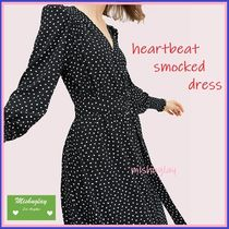 【kate spade】ミニハートが可愛い♪heartbeat smocked dress ★