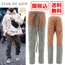 関税・送料込 FEAR OF GOD Four pockets cotton trousers パンツ