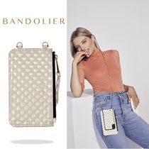 iPhone全機種対応!! Bandolier Sheila Pyramid Embossed Pouch