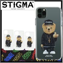 ☆関税込☆STIGMA★PHONE CASE COMPTON BEAR CLEAR iPHONE