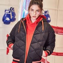 ★STRETCH ANGELS★SA SHORT quilting down-jacket