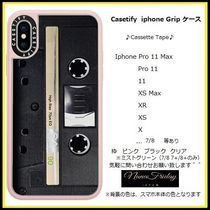 Casetify iphone Grip case♪Cassette Tape♪