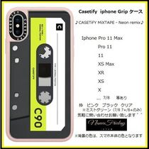 Casetify iphone Grip case♪CASETiFY MiXTAPE - Neon remix♪