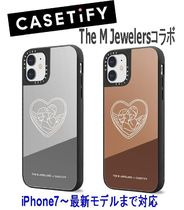 ★Casetify★iPhoneケース *The M JewelersコラボAngel Luv 鏡面